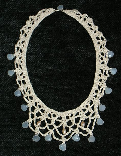 free patterns jewelry knit and crochet jewelry free patterns crochet necklace
