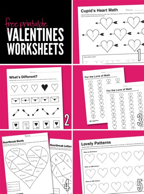 free printable worksheets for s day paging