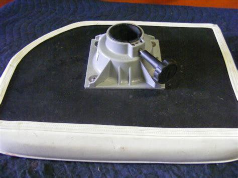boat pedestal seat cushions boat seat cushion 21x15 mounting bracket trac lock swivel