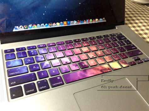 Hp Acer Galaxy stardust decal keyboard sticker for macbook mac lenovo