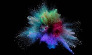 wallpaper powder powder colorful splash wallpaper 3d and abstract