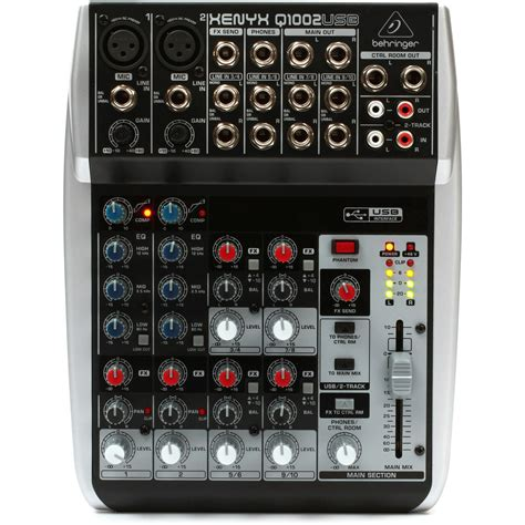 Mixer Xenyx behringer xenyx q1002usb premium 10 input 2 mixer at gear4music