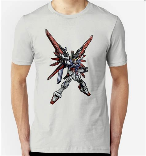 T Shirt Gundam rg destiny gundam t shirts now available ism