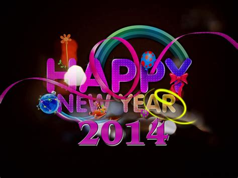happy new year 2014 widescreen wallpaper high