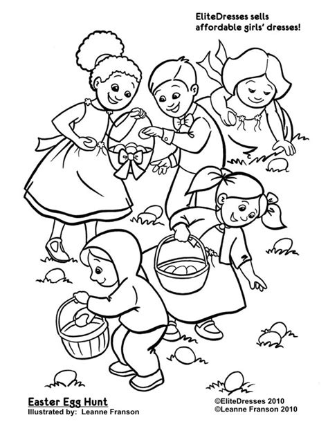 coloring pages easter egg hunt free easter coloring pages coloring easter pictures
