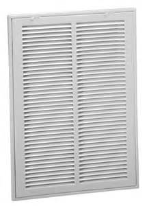 return air vent filter grille 673 steel return air filter grille 1 2 quot fin spacing