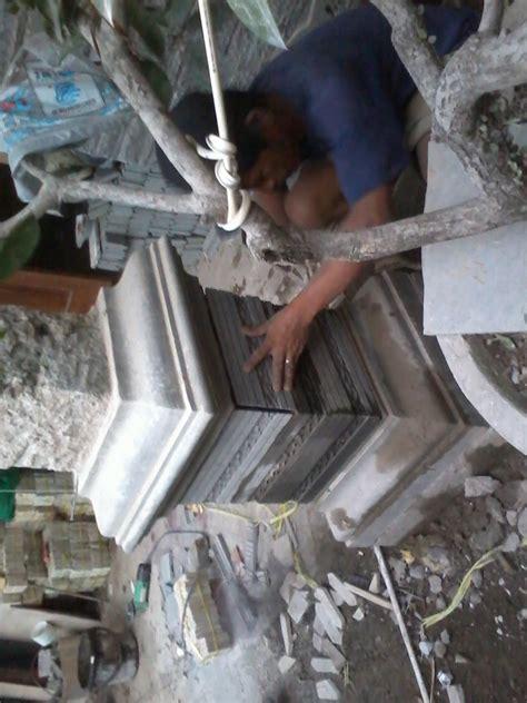 Lu Tamanpilar Td03 taman tilusadulur pemasangan batu alam pilar