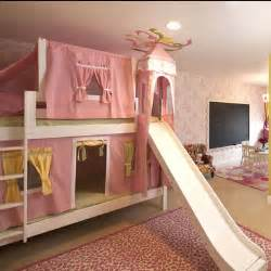 Bunk Bed With Slides Maxtrix Castle Bunk Bed With Slide