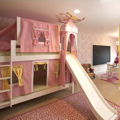 bunk beds with slides maxtrix castle bunk bed with slide