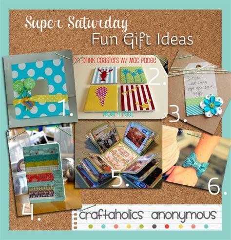 Handmade Craft Gift Ideas - craftaholics anonymous 174 31 saturday craft ideas