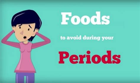 Women S Health 5 Foods To Strictly Avoid During Monthly