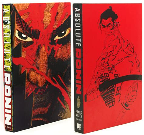Ronin The Deluxe Edition By Frank Miller Graphic Novel Ebook absolute ronin the fox is black