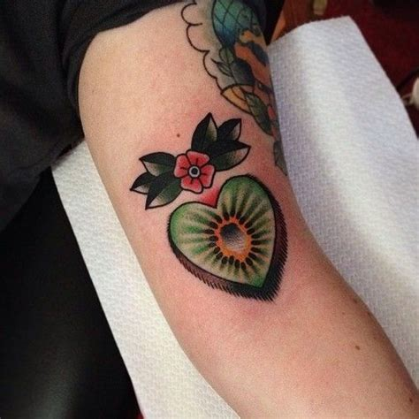 kiwi tattoo designs kiwi fruit theres a story it theres a