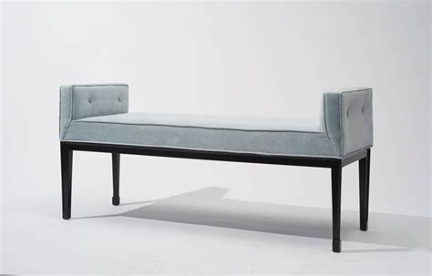 mid century upholstered bench mid century modern upholstered bench 1950s at 1stdibs