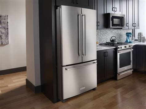 counter depth vs standard depth refrigerators cabinet