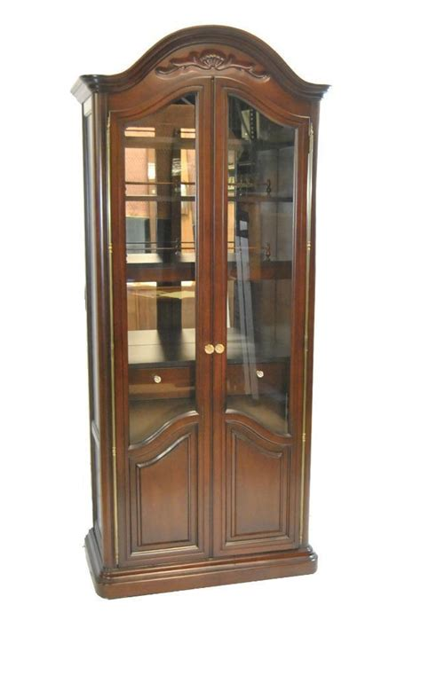 Country Cabinet Doors Country Mahogany Two Door Bar Display Cabinet Leffler S Antiques