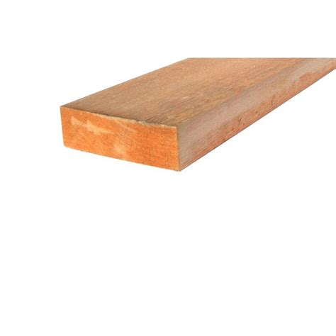 2 in x 6 in x 12 ft western cedar board rcl220612