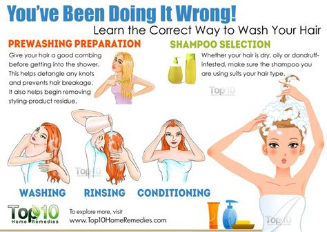 What Is The Right Way To Wash Your Hair by You Ve Been Doing It Wrong Learn The Correct Way To Wash