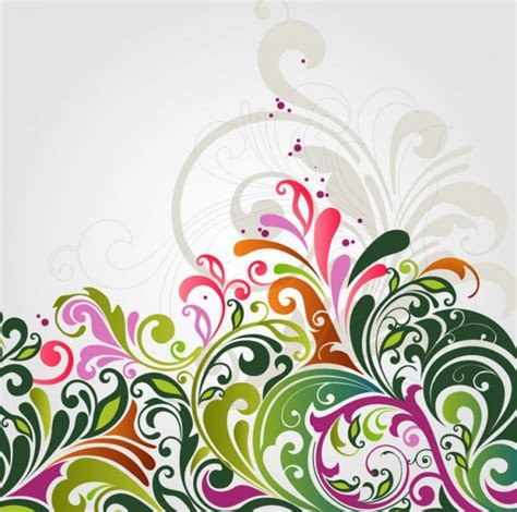 floral pattern vector illustrator abstract floral background vector illustration vector