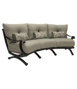telluride sofa telluride crescent sofa costa rican furniture