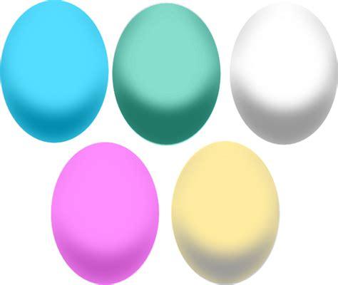 colored easter eggs colored easter eggs clip at clker vector clip
