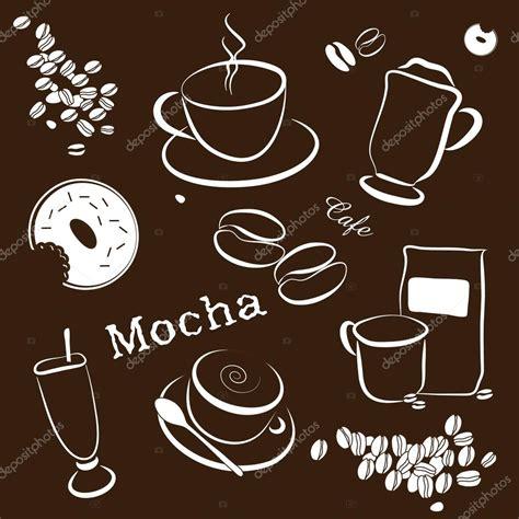 coffee cafe wallpaper vector coffee cafe vector background stock vector 169 smk0473