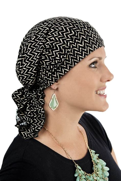 slip on pre scarf scarves for cancer patients