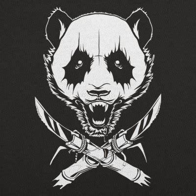T Shirt Panda Black Metal Putih black metal panda t shirt 6 dollar shirts