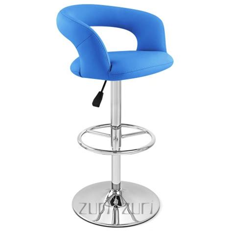 monza bar stool blue bar stools