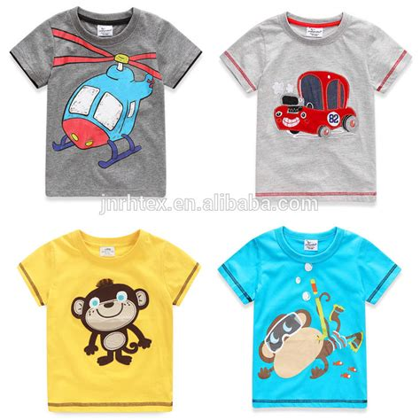 design t shirt wholesale oem cotton screen print boys kids t shirt design wholesale