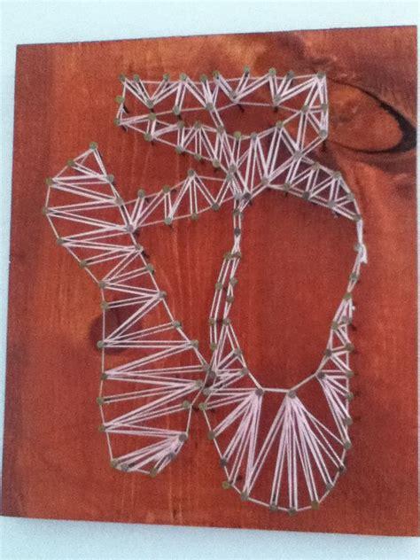 Nail String - ballet shoe nail string string
