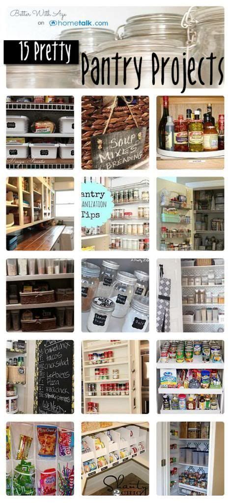 pantry storage solutions and organization ideas on
