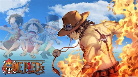 one piece ace one piece ace wallpapers wallpaper cave
