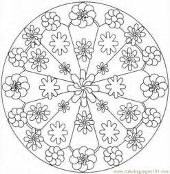Free Printable Coloring Page Kaleidoscope 2lrg Other &gt  sketch template