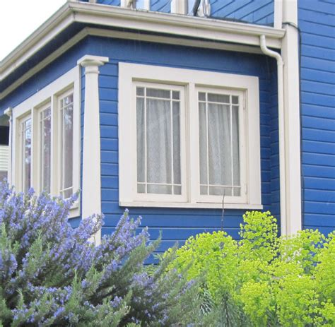 Blue House White Trim | extraday blue house white trim