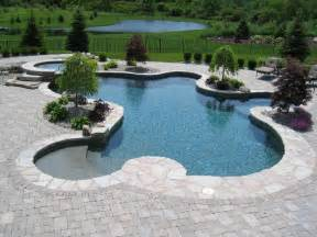 Inground Pool Patio Designs inground pool design and installation 171 patios