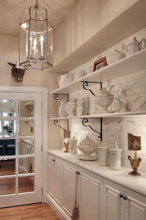 butlers pantry  open shelving hgtv