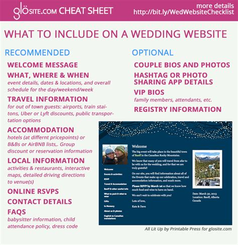 Wedding Checklist Website by Wedding Websites A 2016 How To Guide