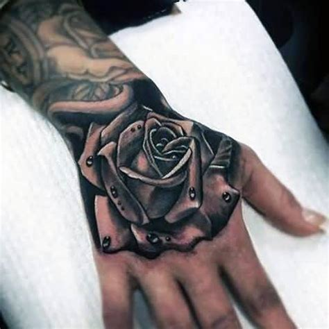 grey shaded rose tattoo 60 pictures of terrific golfian