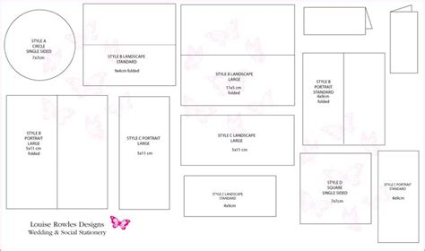 sle a7 envelope template 21 best sizes for invites and envelopes images on