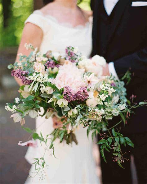 wedding bouquet lilac fresh fragrant lilac wedding bouquets martha stewart