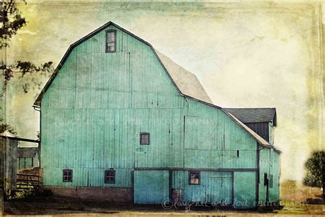 barn home decor aqua barn photo rustic farmhouse photography mint turquoise