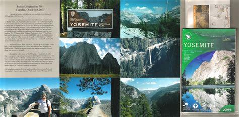 layout yosemite yosemite national park scrapbook layout kathy passmore