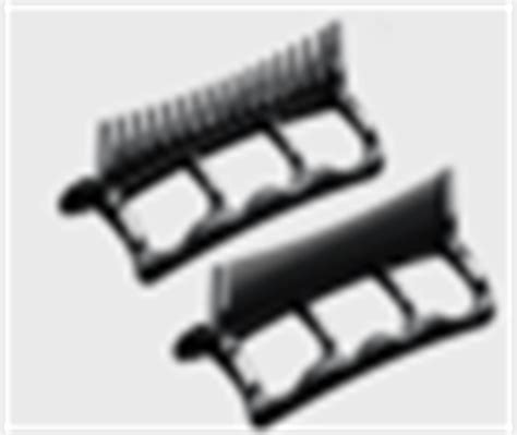 Andis Hair Dryer Comb Attachments andis 85030 wide tooth and tooth attachment combs for