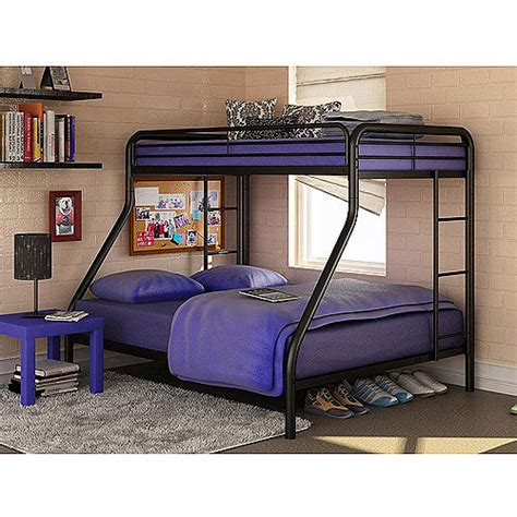 twin over full bunk bed walmart dorel twin over full metal bunk bed multiple colors