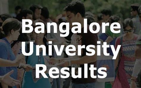 Bangalore Mba Results by Bangalore Results Declared At Http