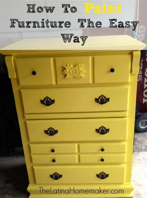 how to paint and decorate an old furniture in formica decor hacks how to paint furniture the easy way see how