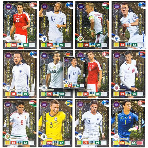 D World Cup 2018 Panini Road To World Cup 2018 Limited Edition Adrenalyn Xl