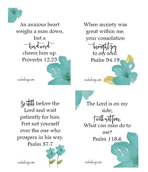Bible Memory Verse Card Template by Win Worry Bible Memory Verse Cards Verses Bible