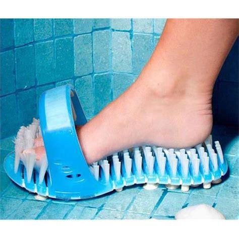 bathtub foot scrubber avivo shower sandal foot scrubber bath aids